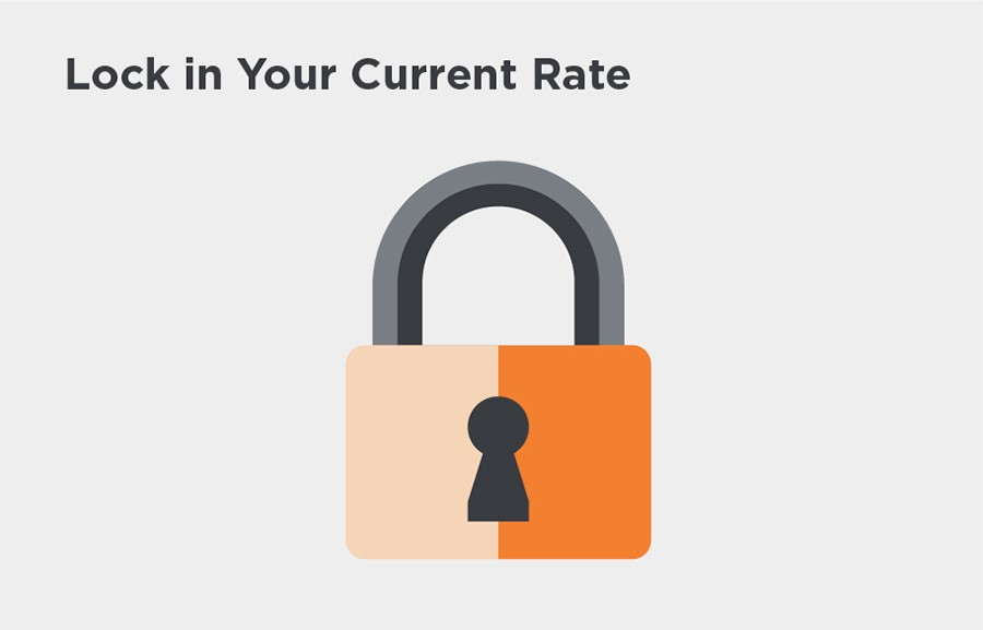 Lock in your current rate