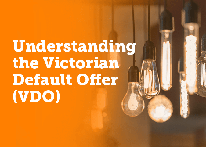 Victorian Default offer energy